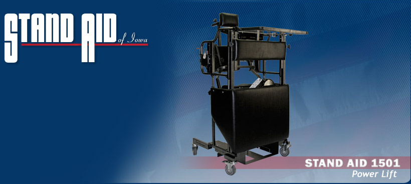 Stand Aid 1501 Power lift Stander