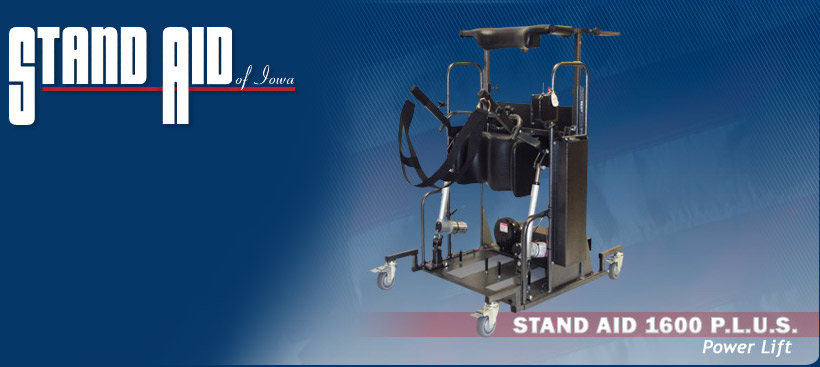 Stand Aid 1600 P.L.U.S. Power lift Stander