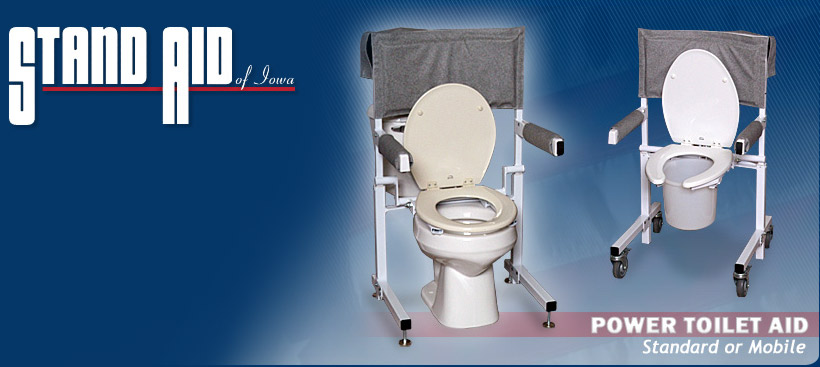 Power Toilet Aid - Standard and Mobile