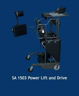 SA 1503 Power Lift standing frame with power drive