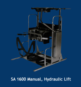 SA 1600 manual & hydraulic lift standing frame