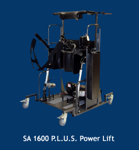 SA 1600 P.L.U.S Power Lift standing frame